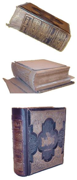 Boek laten maken / restaureren van bijbels